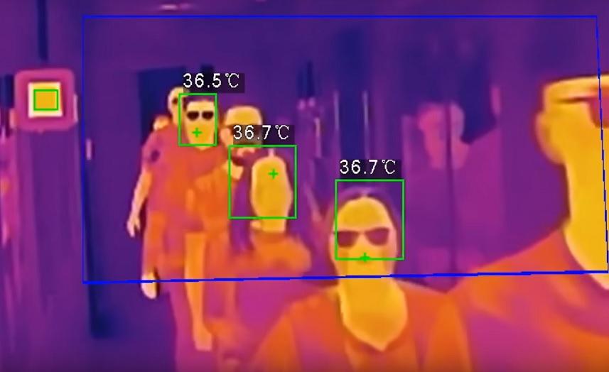 Temperatura control de acceso y protección de datos